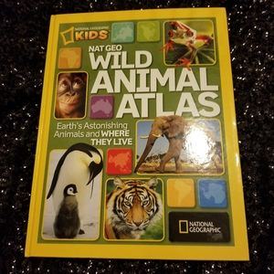 Book & Plastic Toy Animals